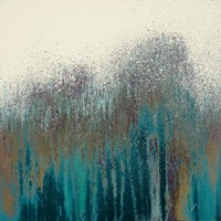 Teal Woods Fine Art Print
