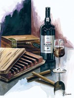 Cigar Press Fine Art Print