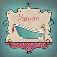 Bain and Savon II Framed Print
