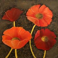 Gilded Floral I Fine Art Print