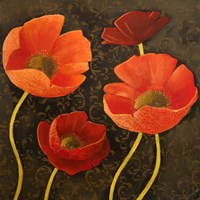 Gilded Floral II Fine Art Print
