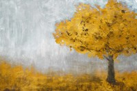 Yellow Eternal Tree Fine Art Print