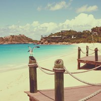 Island Vacation I Framed Print