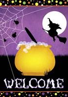 Halloween Witch Fine Art Print