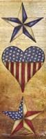 America Stars II Framed Print