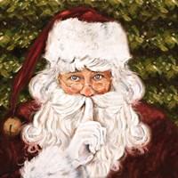 Secret Santa I Fine Art Print