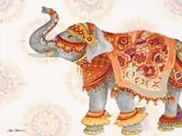 Pink Elephant IIB Fine Art Print