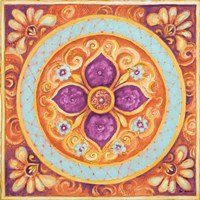 Pink Medallion II Fine Art Print