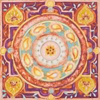 Pink Medallion I Fine Art Print