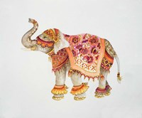 Pink Elephant IIA Fine Art Print