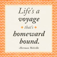 Life is a Voyage Fine Art Print