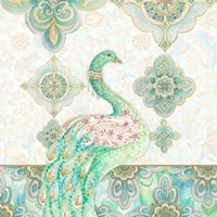Emerald Peacock I Fine Art Print