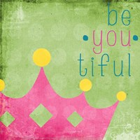 Be You Crown I Framed Print