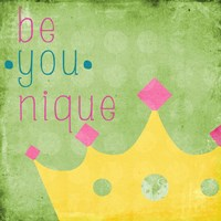 Be You Crown II Framed Print