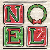 Noel and Santa II Fine Art Print