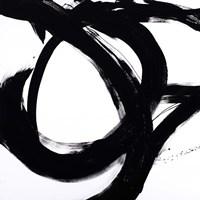 Circular Strokes I Framed Print