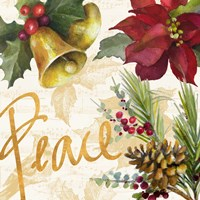 Christmas Poinsettia II Fine Art Print