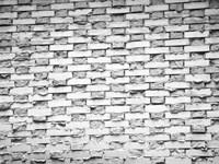 Gray Bricks I Framed Print