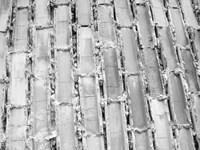 Gray Bricks II Framed Print