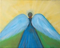 Beneath Angels Wings Fine Art Print