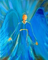 Faithful Angel Fine Art Print