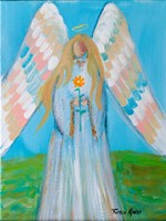 Angel of Spring Fine Art Print