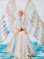 Angel of Winter Fine Art Print