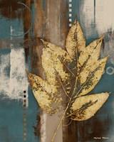 Golden Force I Framed Print