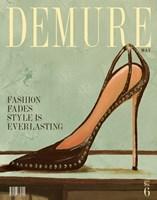 Demure Magazine Fine Art Print