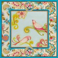 Twitter Pink II Framed Print