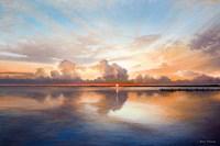 Sunset over Lake Fine Art Print