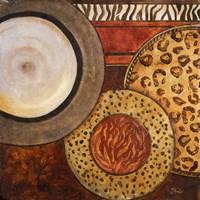 African Circles II Fine Art Print