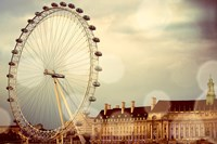 London Ferris Wheel Fine Art Print