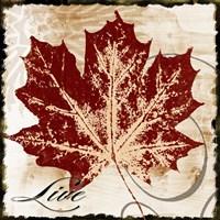 Live Leaf Fine Art Print