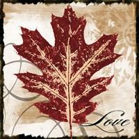 Love Leaf Fine Art Print