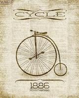 Cycle 1886 Fine Art Print