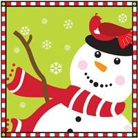 Snowman II Fine Art Print