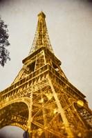 Glittery Paris Fine Art Print