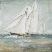 Cape Cod Sailboat I Fine Art Print