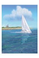 Sailboat Peace Fine Art Print