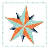 Decagram Star Fine Art Print