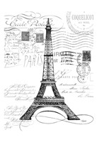 Eco Vintage Paris 1 Fine Art Print