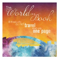The World is A Book Fine Art Print