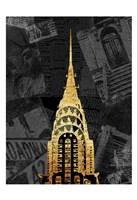 Gold NY Mate Fine Art Print