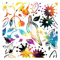 Colorful Florals Fine Art Print
