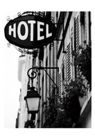 Paris Hotel Fine Art Print