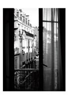Paris Hotel Window Fine Art Print