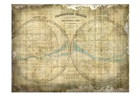 Constellation Map 1 Fine Art Print