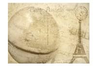 Globe Fine Art Print