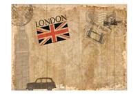 Post Card London Fine Art Print